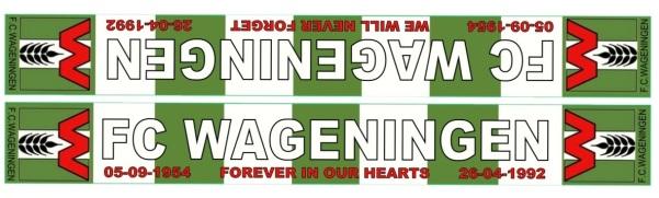 FC Wageningen shawls